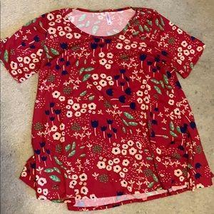 LuLaRoe Floral Shirr
